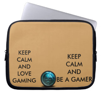 keep calm and love gamer of legends laptop sleve laptop sleeves