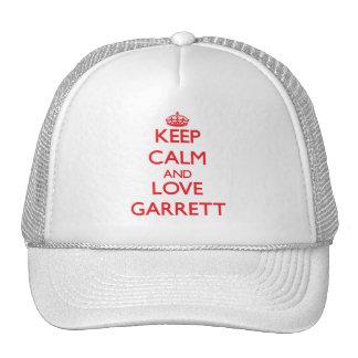 Keep calm and love Garrett Hat