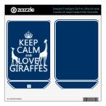 Keep Calm and Love Giraffes - all colours FreeAgent GoFlex Skins