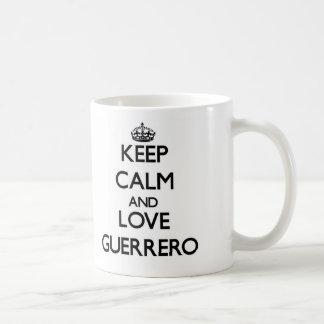 Keep calm and love Guerrero Mug