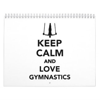 Keep calm and love Gymnastics Calendar