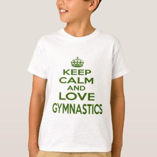 Keep Calm And Love Gymnastics T-Shirt
