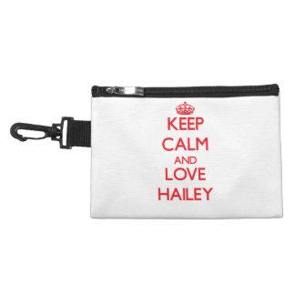 Keep Calm and Love Hailey Accessories Bag