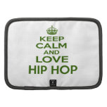 Keep Calm And Love Hip Hop Folio Planner