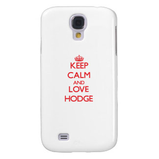 Keep calm and love Hodge HTC Vivid Cases