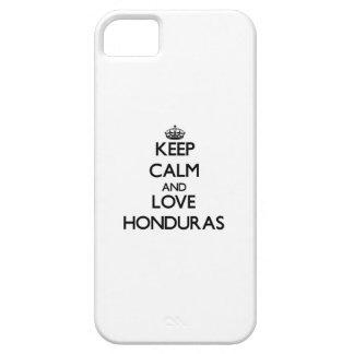 Keep Calm and Love Honduras iPhone 5 Covers