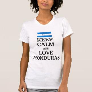 Keep calm and love Honduras T-Shirt