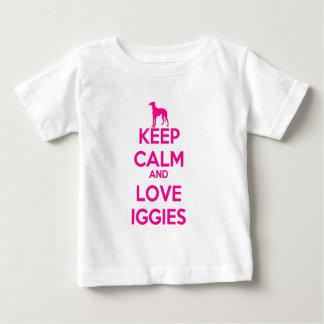 Keep Calm and Love Iggies Infant T-shirt
