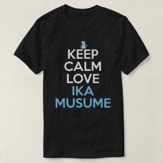 Keep Calm And Love Ika Musume Anime Shirt