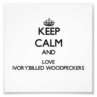 Keep calm and Love Ivory-Billed Woodpeckers Photo