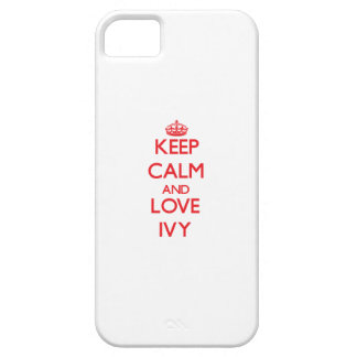 Keep Calm and Love Ivy iPhone SE/5/5s Case