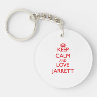 Keep Calm and Love Jarrett Acrylic Keychains