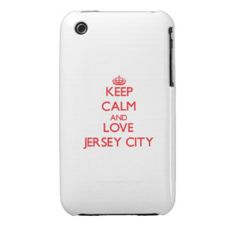 Keep Calm and Love Jersey City iPhone 3 Cover