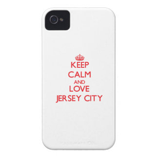 Keep Calm and Love Jersey City iPhone 4 Cover