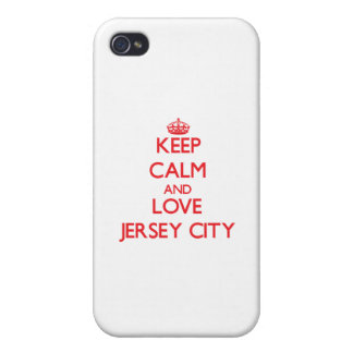 Keep Calm and Love Jersey City Case For iPhone 4