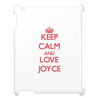 Keep calm and love Joyce Case For The iPad 2 3 4