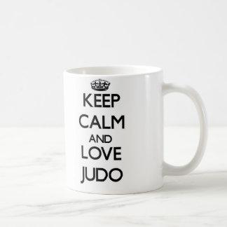 Keep calm and love Judo Coffee Mug