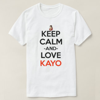 Keep Calm And Love Kayo Anime Manga Shirt