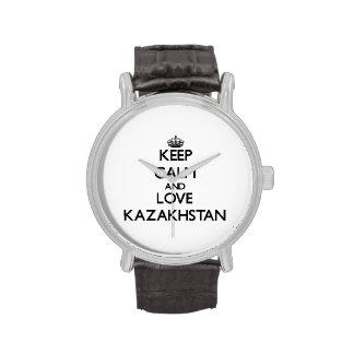 Keep Calm and Love Kazakhstan Watch