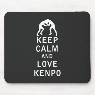 Keep Calm and Love Kenpo Mouse Pad