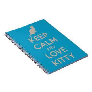 Keep Calm and Love Kitty Notebook