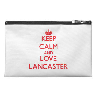 Keep Calm and Love Lancaster Travel Accessories Bag