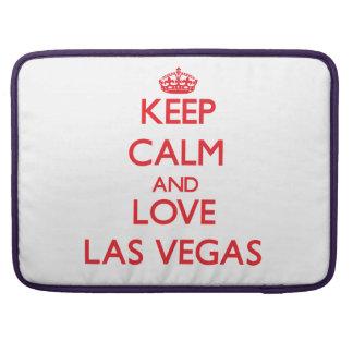 Keep Calm and Love Las Vegas MacBook Pro Sleeve