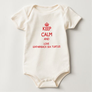 Keep calm and love Leatherback Sea Turtles Baby Creeper