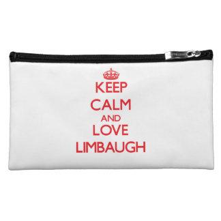 Keep calm and love Limbaugh Makeup Bag