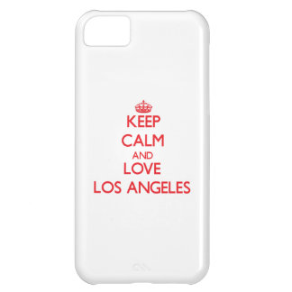 Keep Calm and Love Los Angeles Case For iPhone 5C