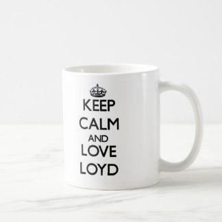 Keep Calm and Love Loyd Mug
