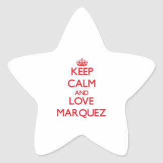 Keep calm and love Marquez Stickers