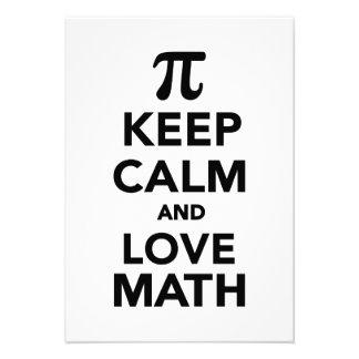 Keep calm and love Math Pi Announcements
