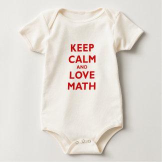 Keep Calm and Love Math Romper