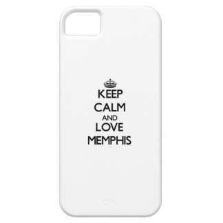 Keep Calm and love Memphis iPhone 5 Cover