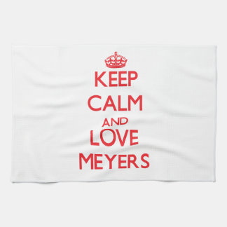 Keep calm and love Meyers Kitchen Towels