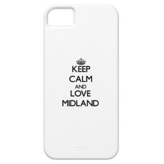 Keep Calm and love Midland iPhone 5 Cover