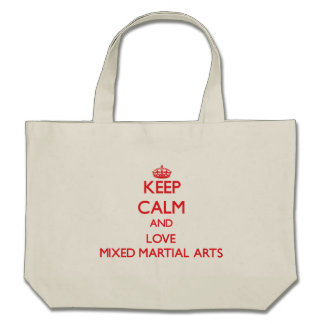 Keep calm and love Mixed Martial Arts Bags