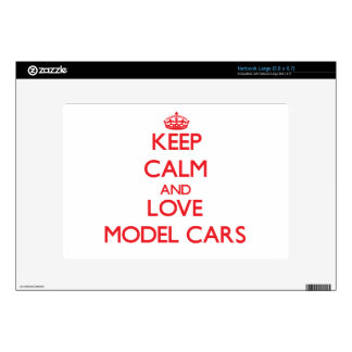 Keep calm and love Model Cars Skin For Netbook