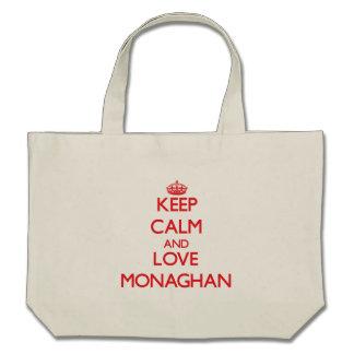 Keep calm and love Monaghan Bags