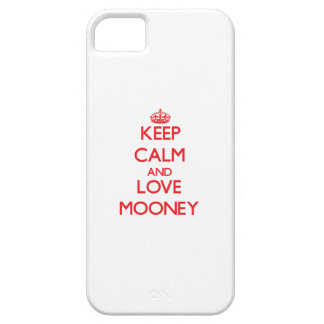 Keep calm and love Mooney iPhone 5 Cover