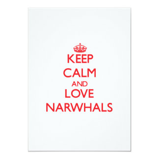 Keep calm and love Narwhals Announcement
