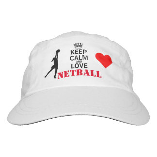 Keep Calm and Love Netball Hat