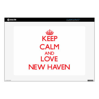 Keep Calm and Love New Haven Skin For Laptop