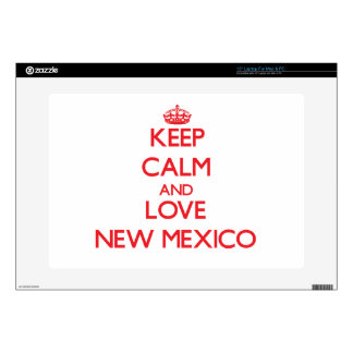 Keep Calm and Love New Mexico Laptop Skins