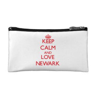 Keep Calm and Love Newark Cosmetic Bag