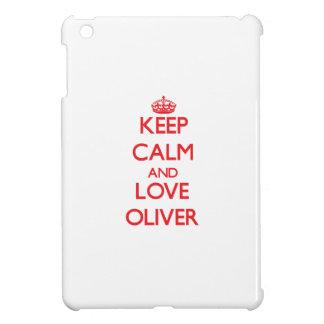 Keep calm and love Oliver iPad Mini Cover