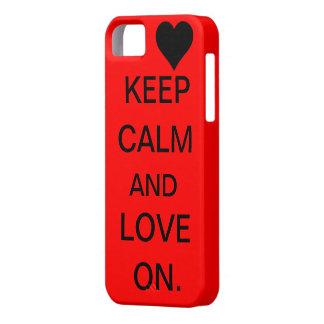 Keep Calm and Love On Case