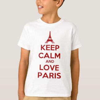 Keep Calm and Love Paris T-Shirt