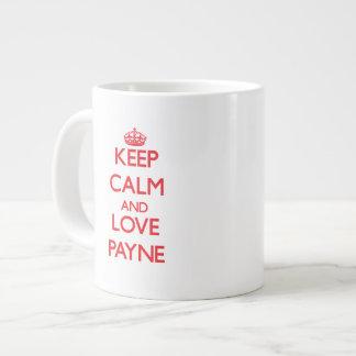Keep calm and love Payne Jumbo Mug
